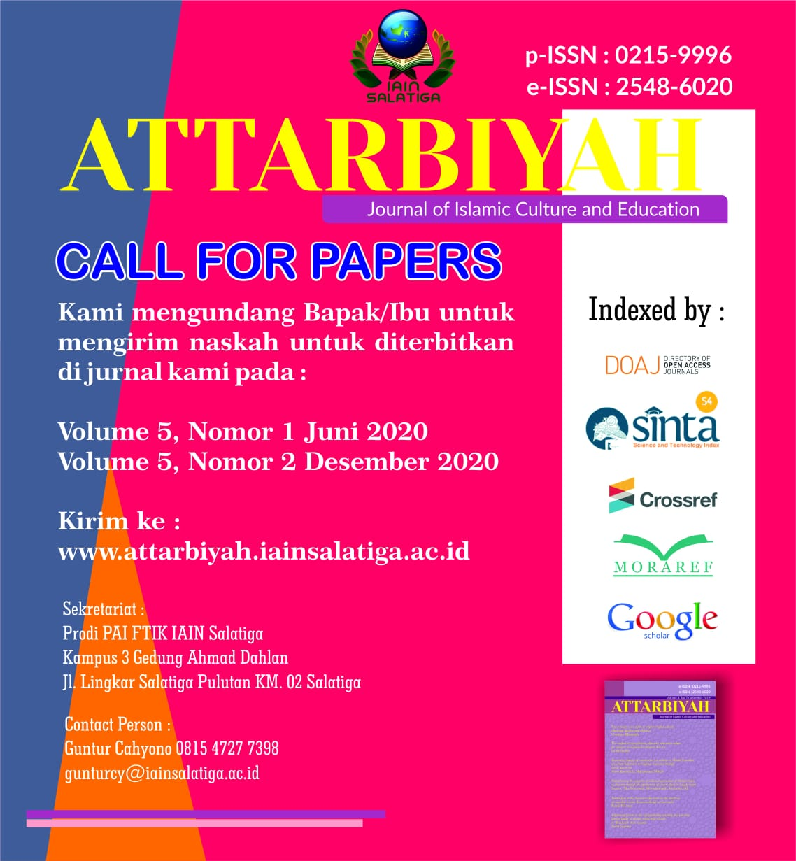 Attarbiyah Journal Of Islamic Culture And Education-8093